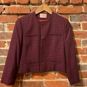 Like New Plaid Pendleton Jacket